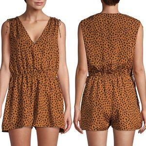 NWT Joie Keona Cheetah Print Romper